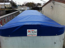 coated tarp for covering