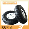 small rubber wheels 3.50-4