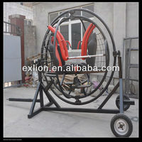 2013 popular young people games human gyroscope on trailer for sale