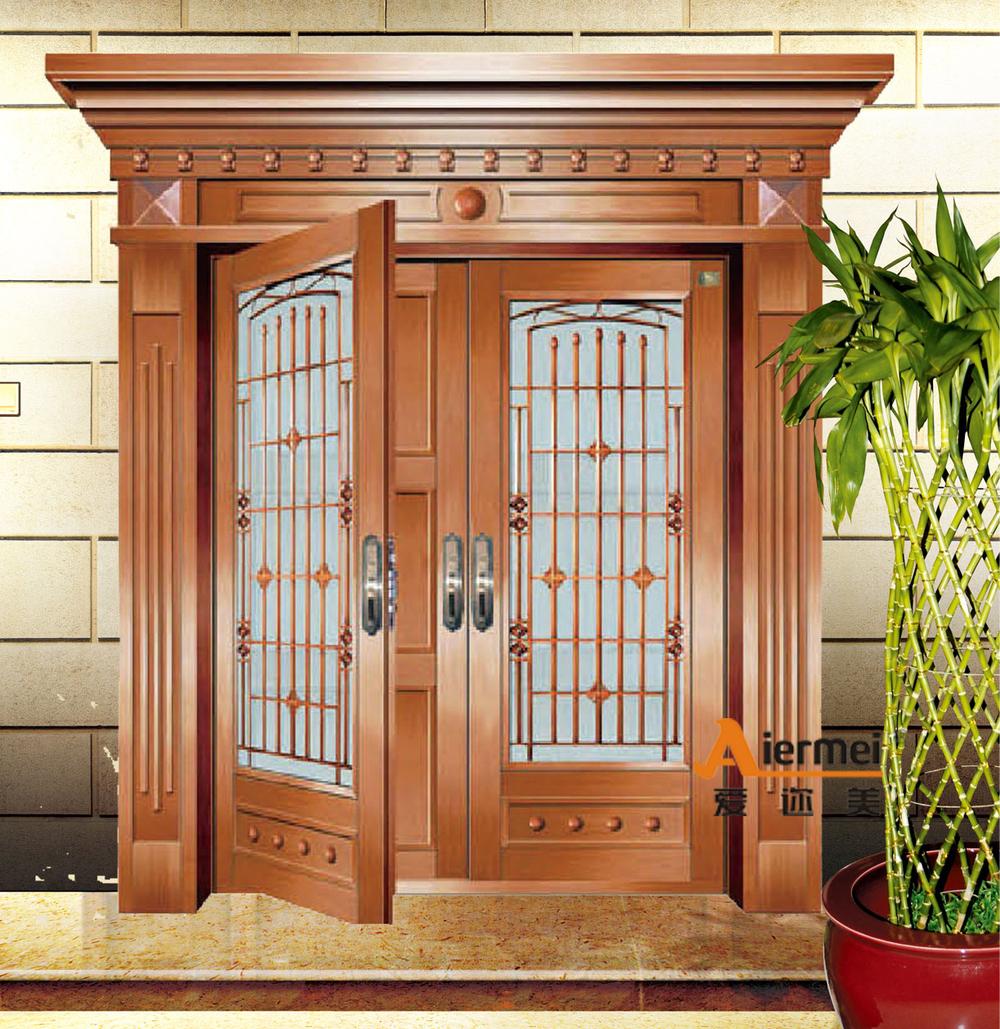 2015 fashioal dubbele deur ontwerp cooper buitenkant glazen deur voor feestzaal deuren product - Ontwerp buitenkant ontwerp ...