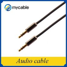 Alibaba china car audio subwoofer cable with male to male metal shell