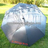 umbrella with rubber hand