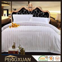 Top 10 hot selling!! custom cheap hotel stripe bed linen