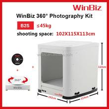 Ingrosso winbiz 360& 3d prodotto fotografia attrezzature studio kit di illuminazione