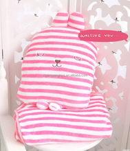 Fashionable promotional plush blanket children