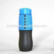 新しいデザイン2014年bpaフリーシリコン水筒/スポーツウォーターボトル