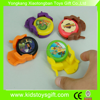 small hotest disc shooting sticker frisbee/plastic flying launcher disc toy