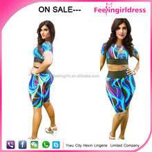 Printed wholesale cheap fashion sexy pictures of ladies dresses