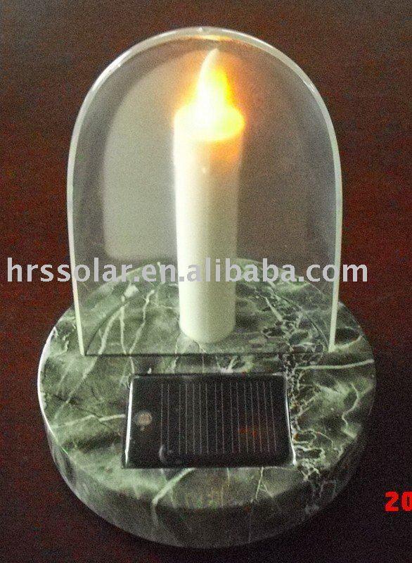 Solaire cimetière lampe