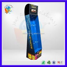 cardboard shelf retail store display,retail display,retail display stands