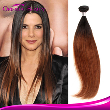 Premium Quality Alibaba Express Hair Elegant and Graceful Silky Hot Sale 1b 27 Peruvian Ombre Straight Hair