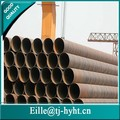 Din EN 10220 HIGH-STRENGTH espiral tubo de acero soldado / tubo