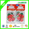 3pcs packed 7*9cm Hanging Strawberry shape Car perfumes fragrances for air freshener