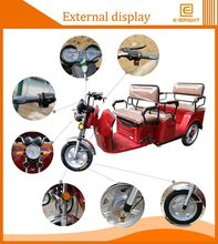 New design 3 wheeler electric tricycle commodity