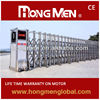 electric folding gate, automatic swing gate opener 15YEARS FACTORY industrial iron gates
