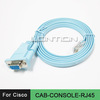 Cisco Console Cable CAB-CONSOLE-RJ45 rs232 db9 serial to rj45 cable