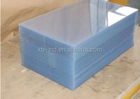 Advanced quality durable double color clear abs plastic board sheet