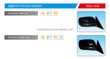 Auto mirrors for Toyota Crown a popular brand and hot selling