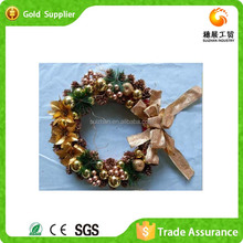 2015 Decorated Popular Design Gift Ideas Christmas Wreath Ornament