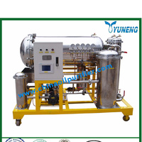 Vacuum turbine oil purifier/gas turbine oil recycling plant