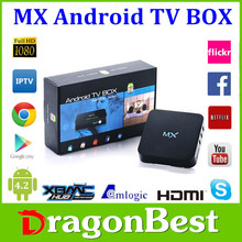 MX tv box Amlogic 8726 Quad Core 1080P google Android TV Box 4.2 with XBMC 13.2 google android media player smart live tv box
