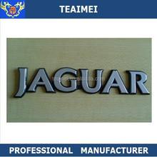 Jaguar letter refit car stickers emblem badges chrome car sticker