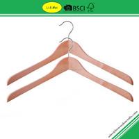 LM3000A Wholesale Wooden Clothes Market Hanger