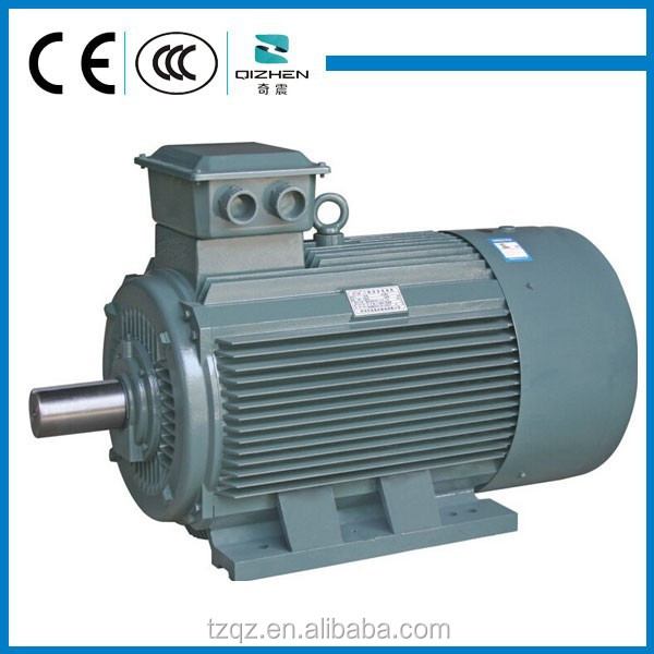 Three Phase Ac Asynchronous Industrial Electric Motor