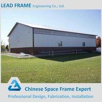 Prefab Space Frame Steel Factory Building Design