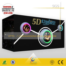 Game Machine 5d simulator,mobile 5d cinema,5d cinema with cabin