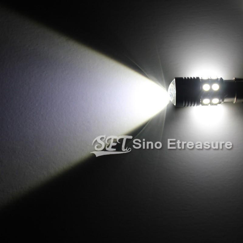 Фонарь тормоза DR MOTOR 2 x P21W S25 1156 12W Cree R5 LED SMD + 12 360 BMW Audi