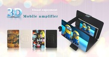 Premium 3D video magnifier TV screen magnifier Folding Portable Screen Stand for mobile phone