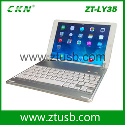 7 inch 360 degree Rotation Wireless Bluetooth Keyboard laptop with detachable keyboard for ipad mini