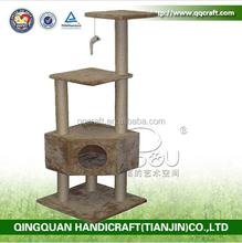 QQGY Factory Price Wholesale Cat Pole Pet Furniture Cat Tree Cat Furniture
