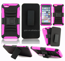 For iPhone 6 plus 5.5 cover case with stand and belt clip