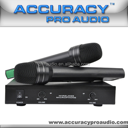 Dual Channels Cheap Price Wireless Microphone VHF-207