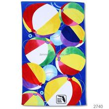 Bath 70*150cm cheap carton microfiber beach towel accept OEM 300154