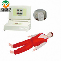 Advanced full-automatic electronic medical simulation CPR manikin BIX/CPR380