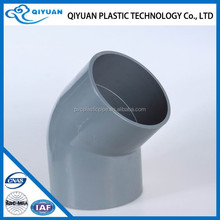 63mm Many types pvc fitting pvc water pipe 45 elbow prices