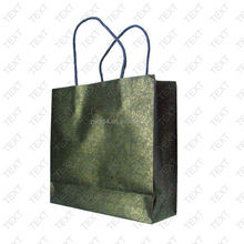 2015 fashion paper party bags/ brand printed paper bag/ discount brand printed paper bag