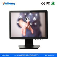 """Square screen 19inch USB touchscreen monitor for the restaurant,19""""resistive monitor"""