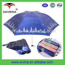 Fashion 21 Inches 6 Ribs 3 Folding Dog Umbrella