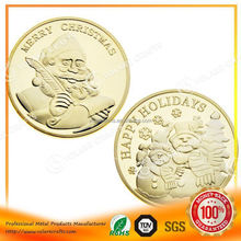 3D games token aluminum anodized metal coin