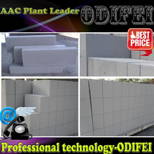 occupy small area and high heat efficiency aac brick cutting machine