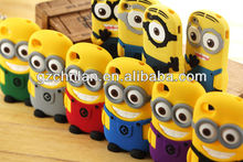 Newest funny case cover for iPhone Despicable Me Minion cover