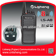 8W Cheap Security Radio VHF UHF Commercial LS-A8 Handheld Walkie Talkie