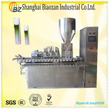 tube filling and sealing device for hand wash cream/large capacity toothpaste machine(CE)