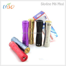 Hot sell Powerful and innovation design box mod, skyline m6 mod clone