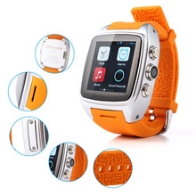 2015 hot sell android cheap watch phone , 3g Smart watch phone with touch display and camera