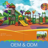 Hot Sale Plastic Playground Slides Free Customize Commercial Outdoor Playground Playsets For Kids